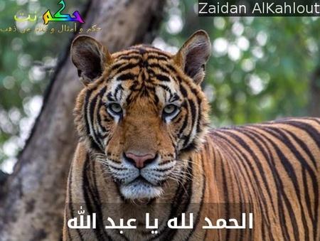 الحمد لله يا عبد الله-Zaidan AlKahlout