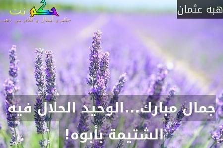 جمال مبارك...الوحيد الحلال فيه الشتيمة بأبوه! -هبه عثمان